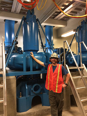 Lucas Berry – GED Graduate 2016 Wastewater Treatment Plant Specialist, City of Grants Pass