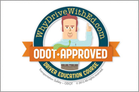 Why take Driver's Education? Odot-Approved logo