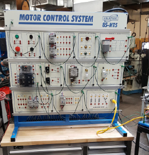 motor control system panel