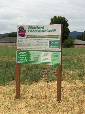 ACCESS- Medford's Food Share Garden