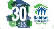 Rogue Valley Habitat for Humanity logo